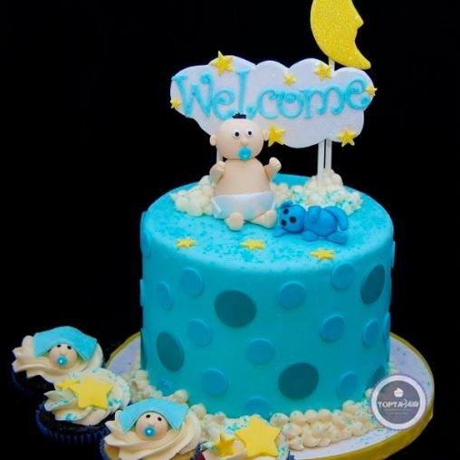 детский торт приветик