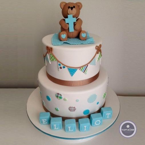 детский торт - на крещение