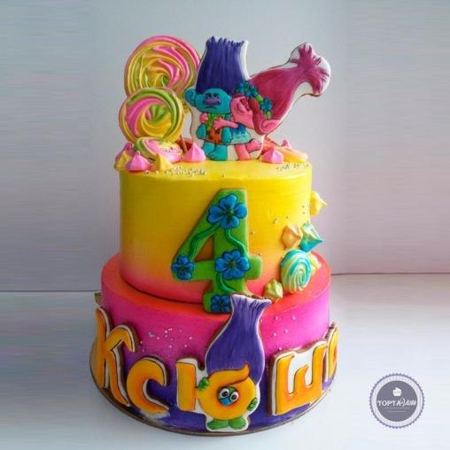 детский торт - обнимашки
