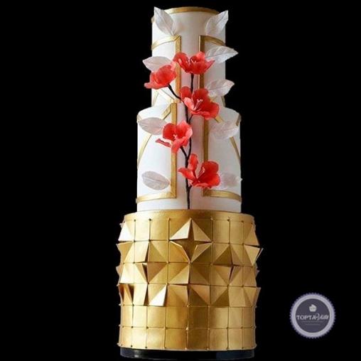 свадебный торт богема