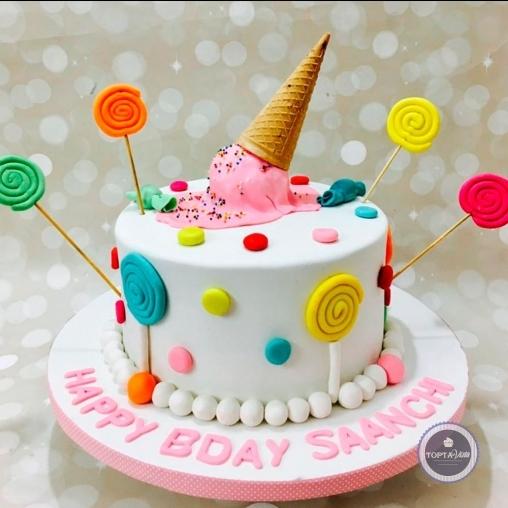 детский торт - петрушка