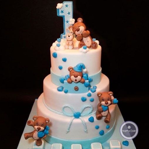 детский торт барни