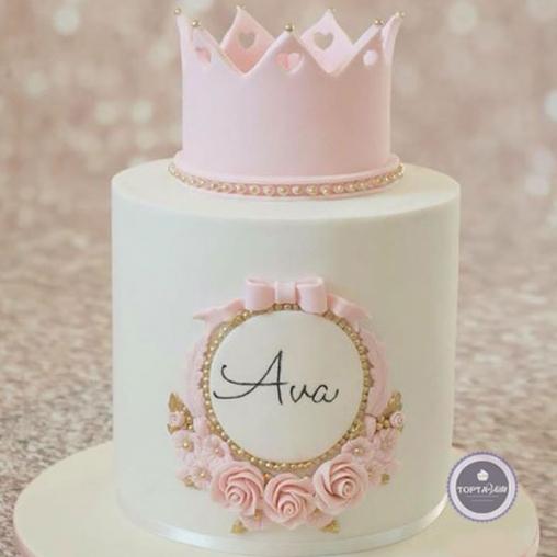 детский торт принцессе