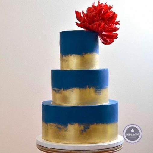 Свадебный торт Грани
