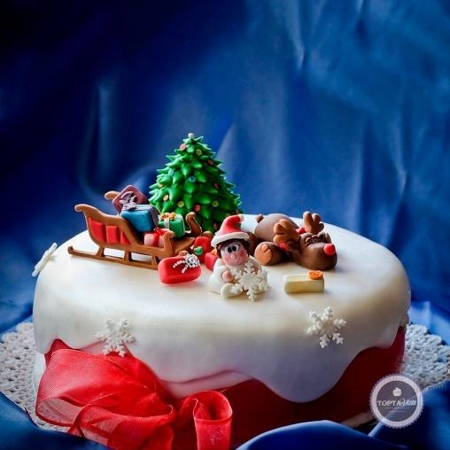 новогодний торт - привал