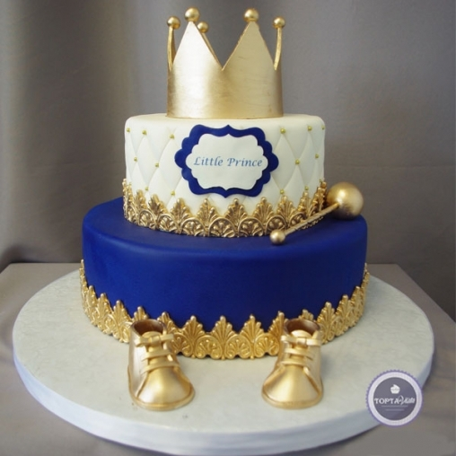детский торт корона