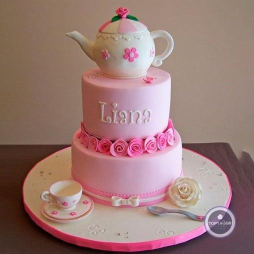 детский торт лианочка
