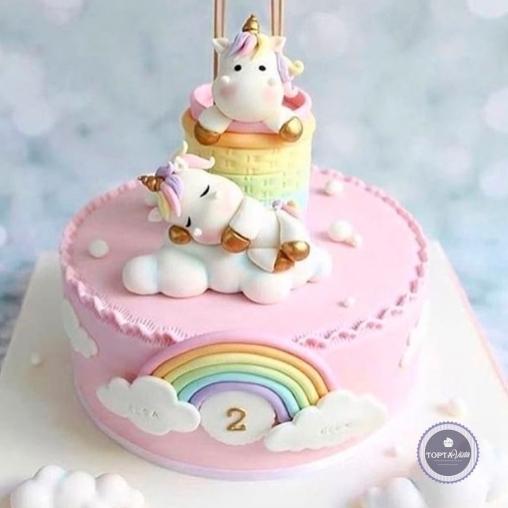 детский торт - малыши
