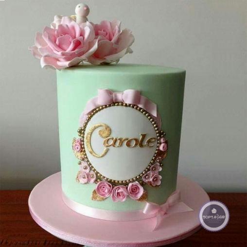 свадебный торт букетик