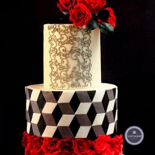 Свадебный торт Феделия