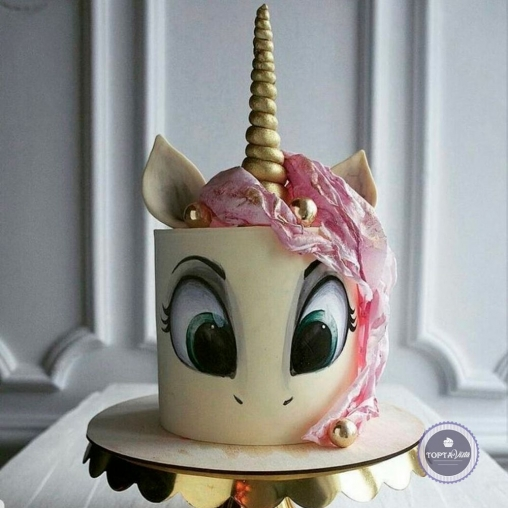 Детский торт - Крошка Белль
