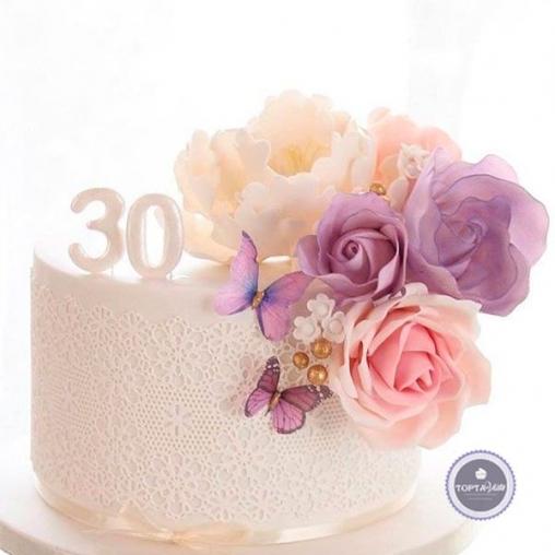 Торт для женщин Юбилей