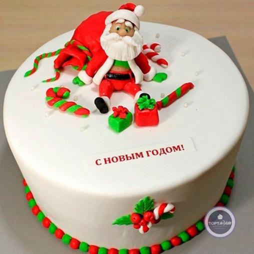 Новогодний торт С Новым годом!