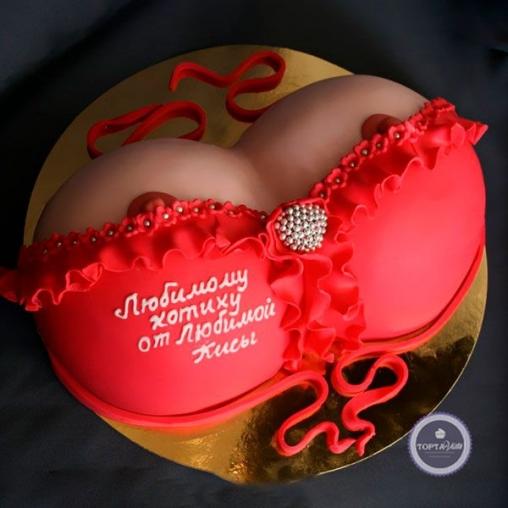 Эротический торт Котик+киса