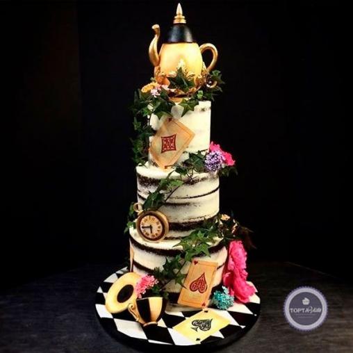 Праздничный торт Чайный