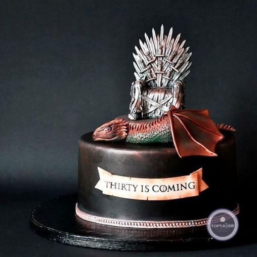 Торт для мужчин Дракон