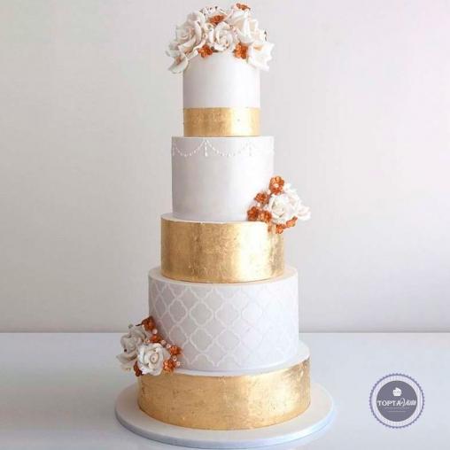 Свадебный торт - Балерина