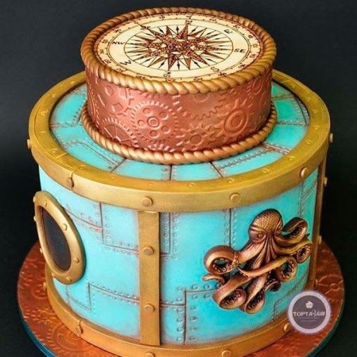 Торт для мужчин Капитан