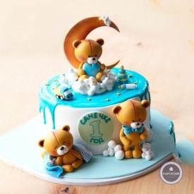 Детский торт - Санечке годик