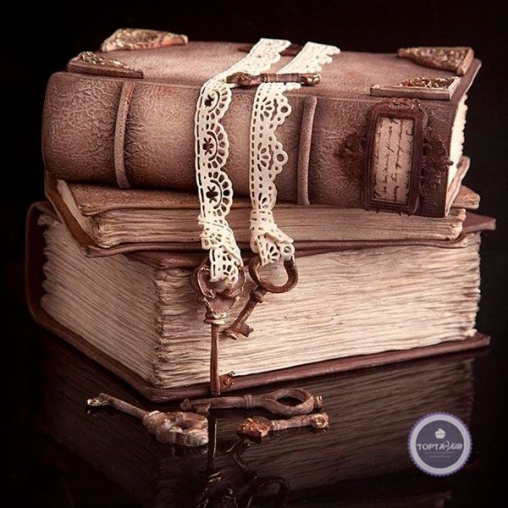 Праздничный торт Рукопись
