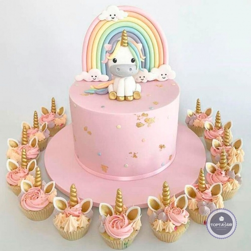 Детский торт - Единорожка