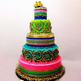 Свадебный торт Цветолюбия