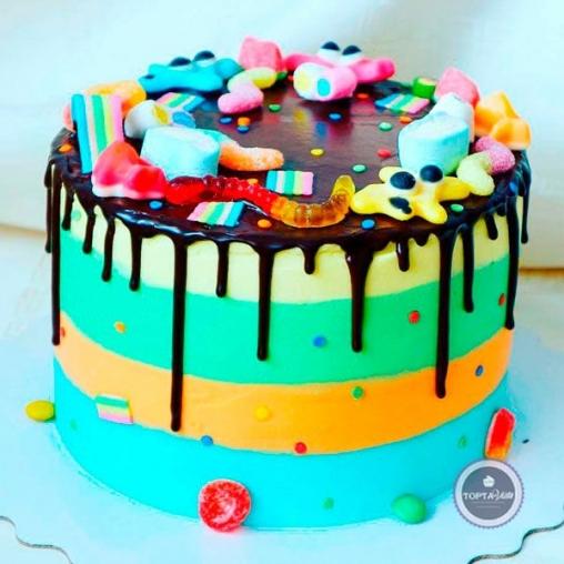 Детский торт Мармелад