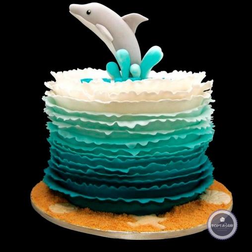 Детский торт - Дельфинарий
