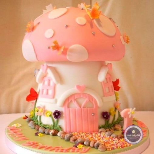 Детский торт Домик феи