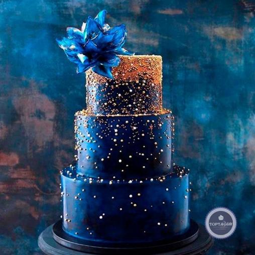 Свадебный торт Сапфир