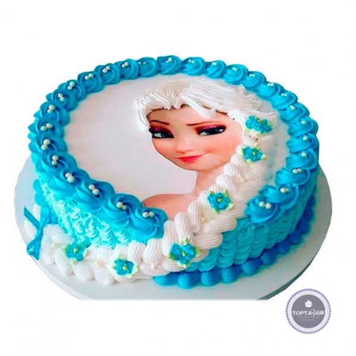 Детский торт Эльза