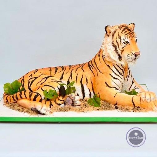 Торт для мужчин Царь зверей