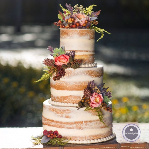 Свадебный торт - Монарх