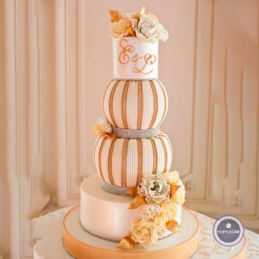 Свадебный торт - Любава
