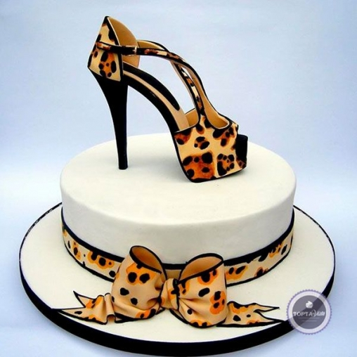 Торт для женщин Туфелька