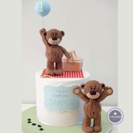 Детский торт - На годик
