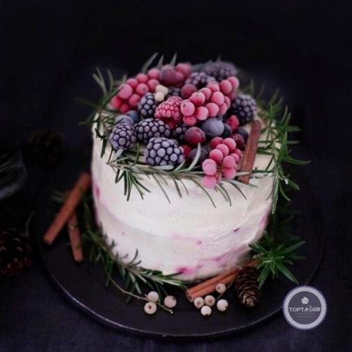 Торт - Ягодный пломбир