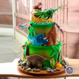 Детский торт - Динозаврики