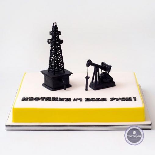 Корпоративный торт - Нефтяник