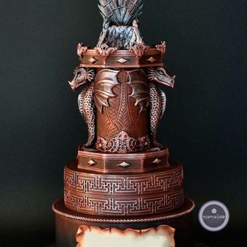Торт для мужчин Громила