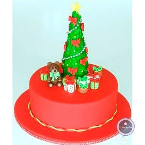Новогодний торт Шляпка