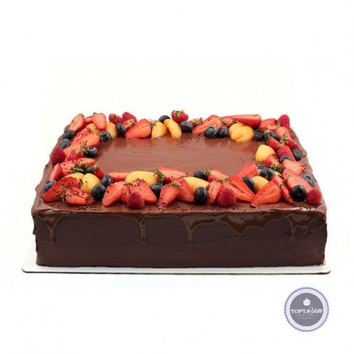 Торт без мастики Сладкий пай