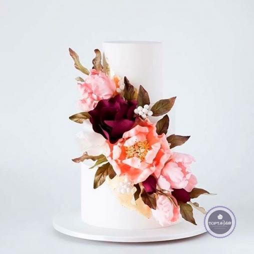 Свадебный торт Магнолия