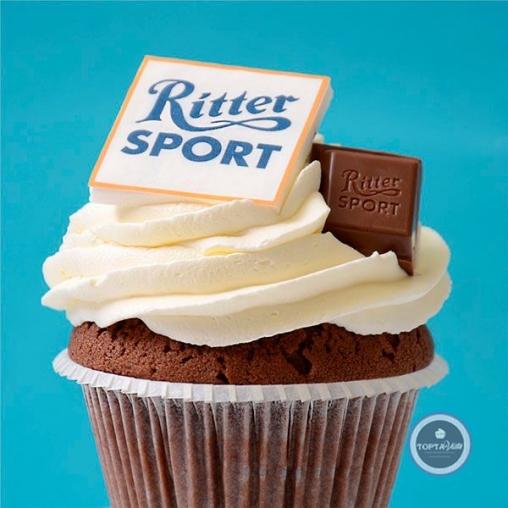 Капкейки - Ritter sport