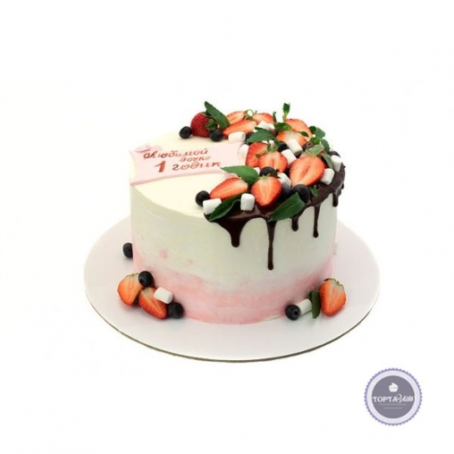 Торт без мастики Софи