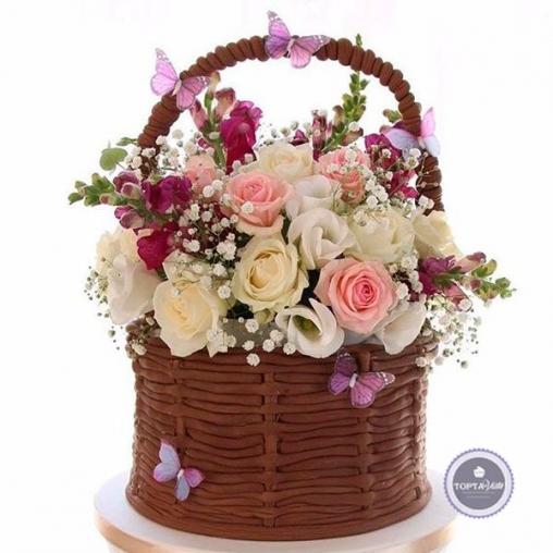 Торт для женщин Открытка