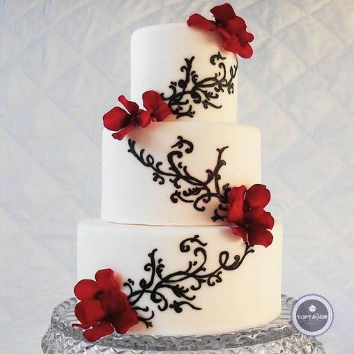 Свадебный торт - Даниэлла