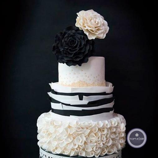 Свадебный торт Он и она