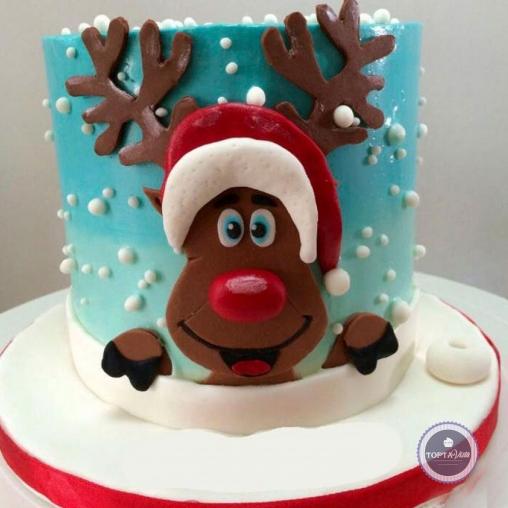 Новогодний торт - Новогодний привет