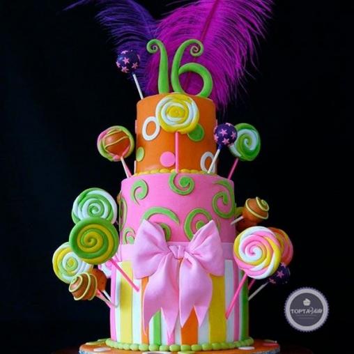 Детский торт Леденец